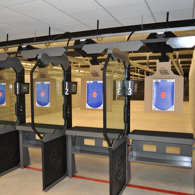 Inside of Shooting Range